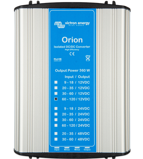 Orion DC-DC Converters 110V, Isolated