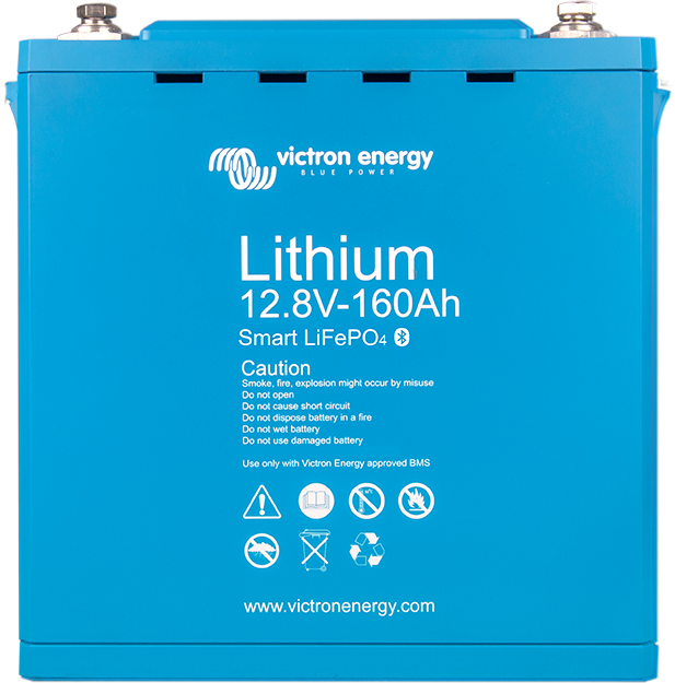 Lithiumbatteri 12,8V & 25,6V Smart